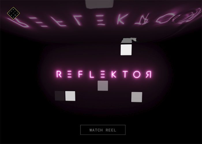Reflektor-Digital-Website