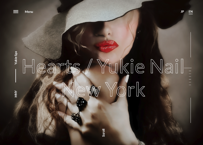 Yukie Nail And Hearts Hair NY