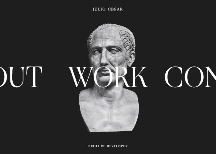 Julio Cesar – Creative Developer